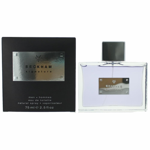 Beckham Signature by David Beckham, 2.5 oz Eau De Toilette Spray for Men