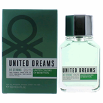 Benetton United Dreams Be Strong by Benetton, 3.4 oz Eau De Toilette Spray for Men