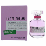 Benetton United Dreams Love Yourself by Benetton, 2.7 oz Eau De Toilette Spray for Women