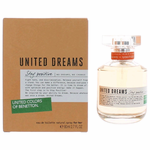 Benetton United Dreams Stay Positive by Benetton, 2.7 oz Eau De Toilette Spray for Women