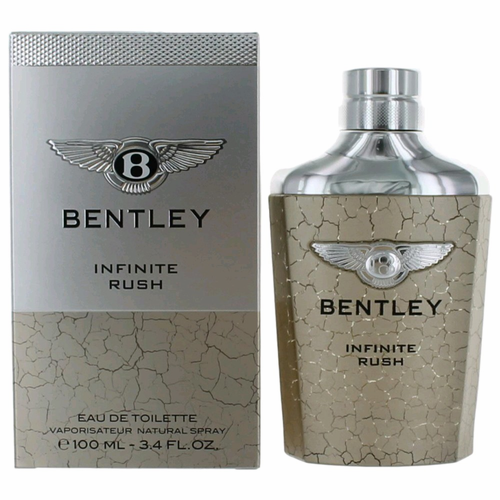 Bentley Infinite Rush by Bentley, 3.4 oz Eau De Toilette Spray for Men