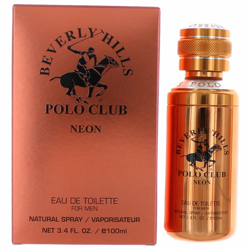 Beverly Hills Polo Club Neon by Beverly Hills Polo Club, 3.4 oz Eau de Toilette Spray for Men