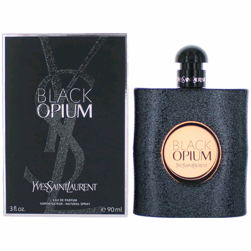Black Opium by Yves Saint Laurent, 3 oz Eau De Parfum Spray for Women