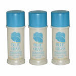 Blue Grass by Elizabeth Arden, 3x1.5 oz (4.5 oz total) Cream Deodorant for women