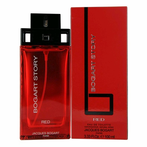 Bogart Story Red by Jaques Bogart, 3.4 oz Eau De Toilette Spray for Men