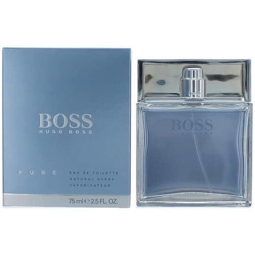 Boss Pure by Hugo Boss, 2.5 oz Eau De Toilette Spray for Men