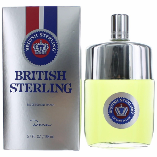 British Sterling by Dana, 5.7 oz Cologne Splash for Men