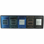 Bvlgari by Bvlgari, 5 Piece Mini Gift Collection for Men