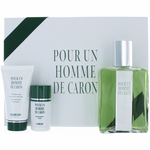 Caron Pour Un Homme by Caron, 3 Piece Gift Set for Men