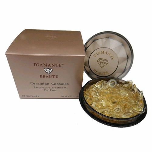 Ceramide Capsules Restorative Treatment by Diamante Beaute, 60 Capsules for Eyes