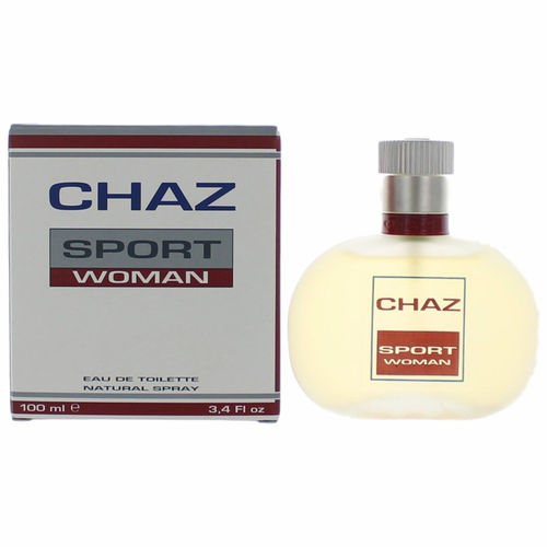 Chaz Sport Woman by Chaz, 3.4 oz Eau De Toilette Spray for Women