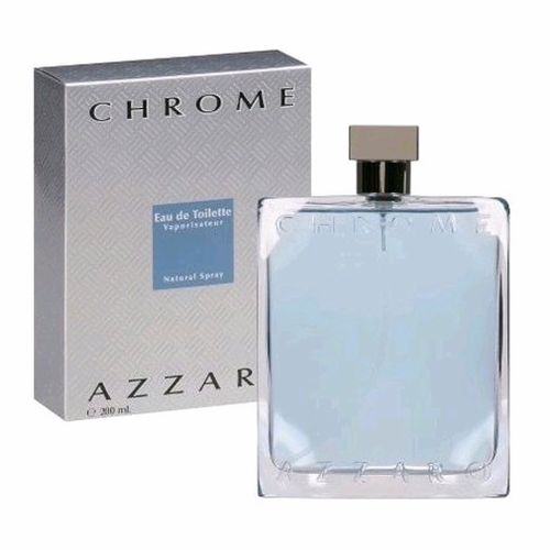Chrome by Azzaro, 6.8 oz Eau De Toilette Spray for Men