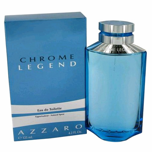 Chrome Legend by Azzaro, 4.2 oz Eau De Toilette Spray for Men