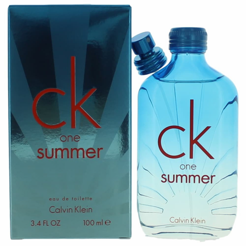 CK One Summer 2017 by Calvin Klein, 3.4 oz Eau De Toilette Spray for Unisex