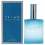 Clean Cool Cotton by Dlish, 2.14 oz Eau De Parfum Spray for Women