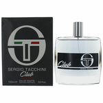 Club Intense by Sergio Tacchini, 3.4 oz Eau De Toilette Spray for Men