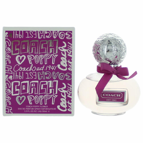 Coach Poppy Flower by Coach, 1 oz Eau De Parfum Spray for Women
