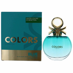 Colors De Benetton Blue by Benetton, 2.7 oz Eau De Toilette Spray for Women
