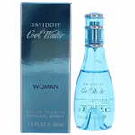 Cool Water by Davidoff, 1 oz Eau De Toilette Spray for Women