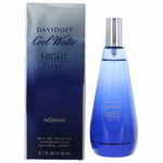 Cool Water Night Dive by Davidoff, 2.7 oz Eau De Toilette Spray for Women
