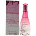 Cool Water Sea Rose Exotic Summer by Davidoff, 3.4 oz Eau De Toilette Spray for Women