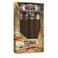 Cuba America by Cuba, 4 Piece Gift Set for Men with Black, Grey, Green & Brown