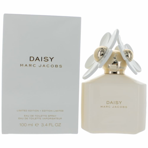 Daisy White Limited Edition by Marc Jacobs, 3.4 oz Eau De Toilette Spray for Women