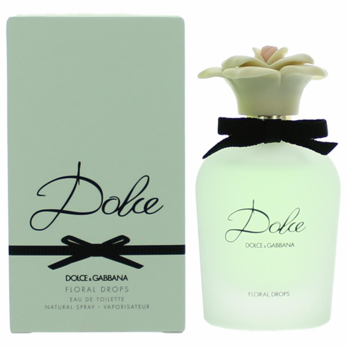 Dolce Floral Drops by Dolce & Gabbana, 1.6 oz Eau De Toilette Spray for Women