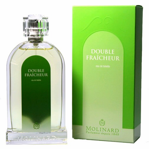 Double Fraicheur by Molinard, 3.3 oz Eau De Toilette Spray for women