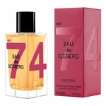 Eau De Iceberg Wild Rose by Iceberg, 3.3 oz Eau De Toilette Spray for Women