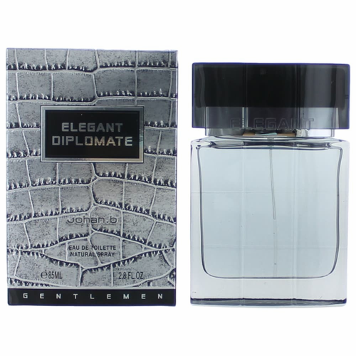 Elegant Diplomate by Johan.b, 3.4 oz Eau De Toilette Spray for Men