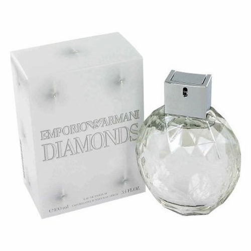 Emporio Armani Diamonds by Giorgio Armani, 3.4 oz Eau De Parfum Spray for Women