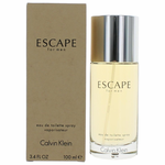 Escape by Calvin Klein, 3.4 oz Eau De Toilette Spray for Men