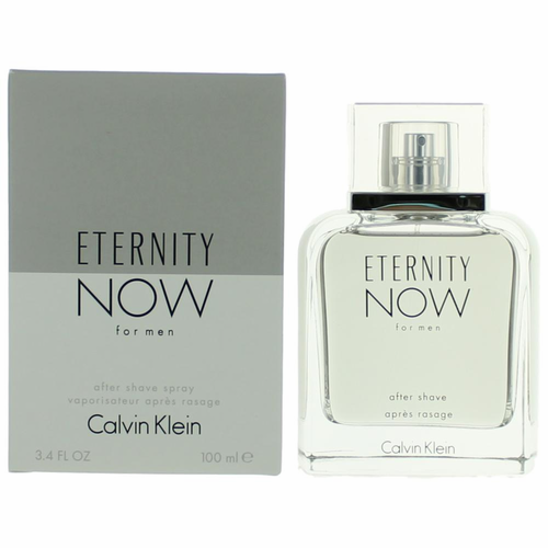 Eternity Now by Calvin Klein, 3.4 oz After Shave Spray for Men