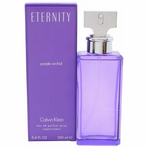 Eternity Purple Orchid by Calvin Klein, 3.4 oz Eau De Parfum Spray for Women