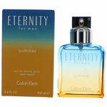 Eternity Summer 2017 by Calvin Klein, 3.4  oz Eau De Toilette Spray for Men