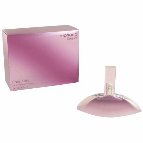 Euphoria Blossom by Calvin Klein, 3.4 oz Eau De Toilette Spray for Women