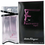 F for Fascinating Night by Salvatore Ferragamo, 3 oz Eau De Parfum Spray for Women