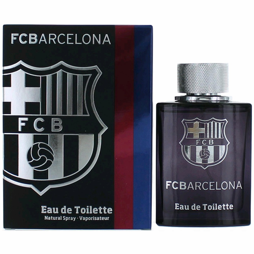 FC Barcelona by Air-Val International, 3.4 oz Eau De Toilette Spray for Men