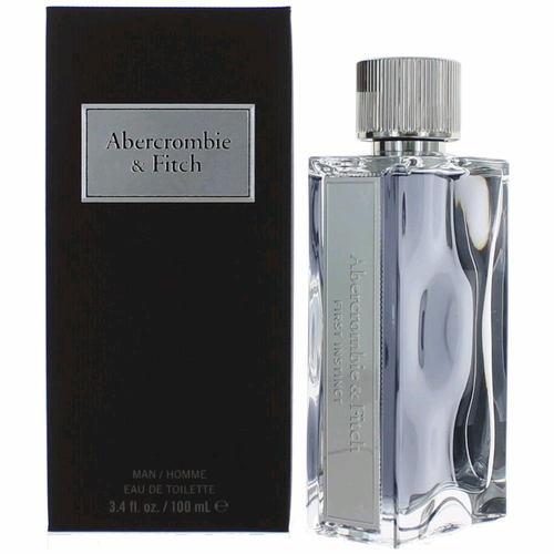 First Instinct by Abercrombie & Fitch, 3.4 oz Eau De Toilette Spray for Men