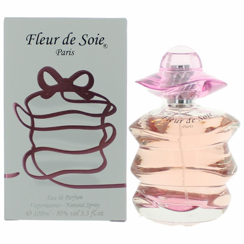 Fleur De Soie by Paris Bleu, 3.3 oz Eau De Parfum Spray for Women