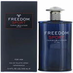 Freedom Sport by Tommy Hilfiger, 3.4 oz Eau De Toilette Spray for Men