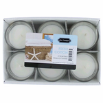 Fresh Cotton 1.5 oz Glass Jar Votives Candle, 6 Pack 9 oz Total - Fresh Cotton