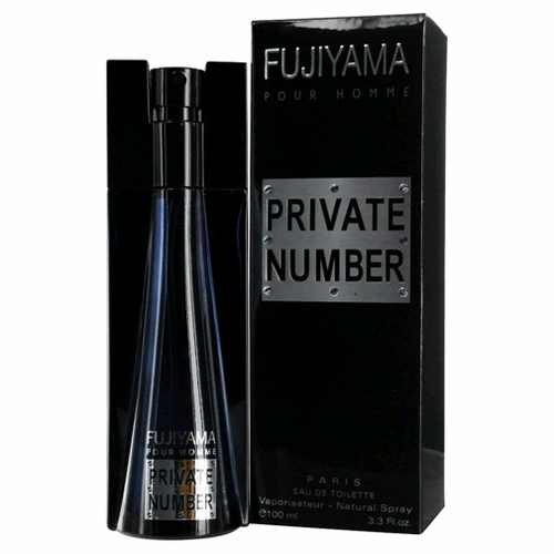 Fujiyama Private Number by Parfum Fujiyama, 3.3 oz Eau De Toilette Spray for Men