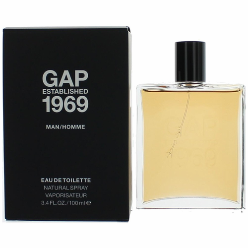 Gap Established 1969 by Gap, 3.4 oz Eau De Toilette Spray for Men