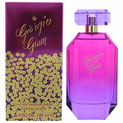 Giorgio Glam by Berverly Hills, 3.4 oz Eau De Parfum Spray for Women