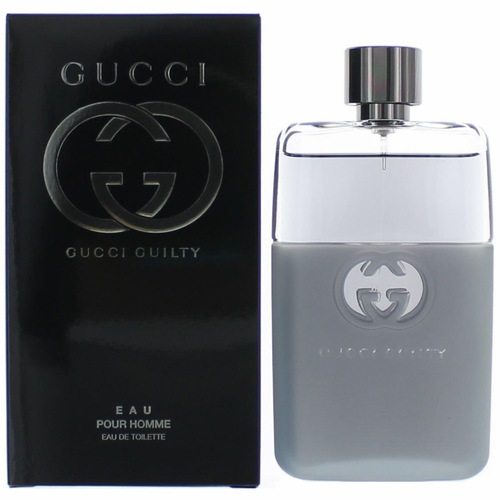 Gucci Guilty Eau by Gucci, 3 oz Eau De Toilette Spray for Men