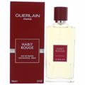 Habit Rouge by Guerlain, 3.3 oz Eau De Parfum Spray for Men