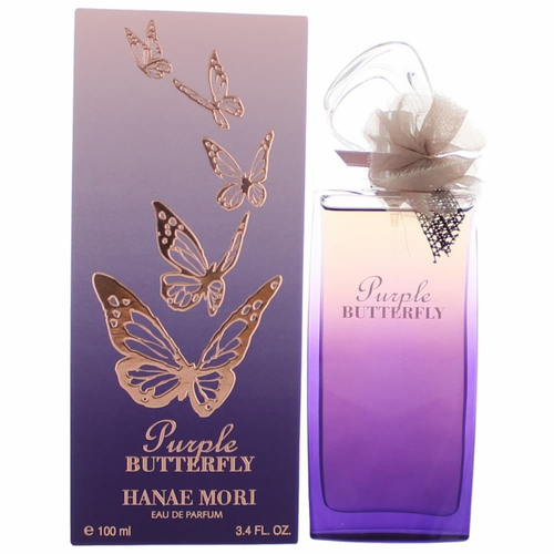 Authentic Hanae Mori Purple Butterfly Perfume By Hanae Mori, 3.4 oz ...