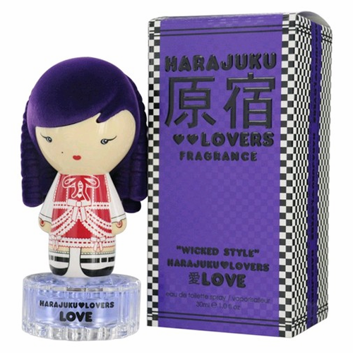 Harajuku Lovers Wicked Style Love by Gwen Stefani, 1 oz Eau De Toilette Spray for Women
